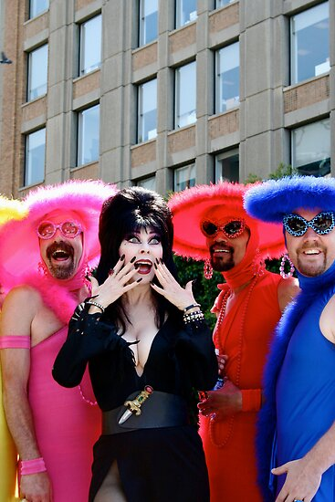 Elvira, Mistress of SF Pride!! by abfabphoto