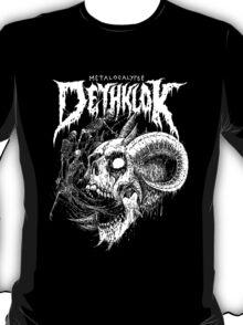 Dethklok Metalocalypse goat skull T-Shirt
