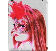 The girl in the mask PII iPad Case/Skin