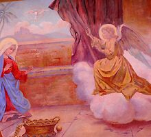 The Annunciation Fresco by katekreations