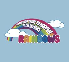 Cabin Pressure - Rainbows Kids Clothes