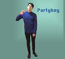 Phil Lester Partyboy by what- doyoueveninternet