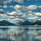 Lake McDonald and the Rocky Mountains by Bryan Peterson