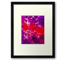 Colorful aguarelle Framed Print