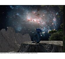 Blue Man 11: Homesick Photographic Print