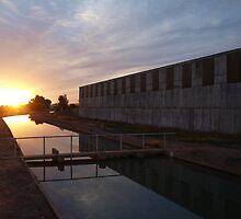 Channel Sunset by ShovellingSon
