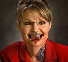 scary sarah palin by EDLFDESIGNS