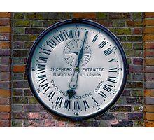 The Shepherd Gate Clock Photographic Print