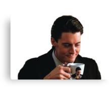 DAMN FINE COFFEE Canvas Print