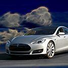 2014 Tesla Model S 'Sports Sedan' by DaveKoontz