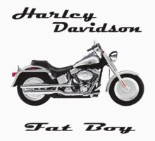Harley Fat Boy by 1StopPrints