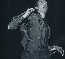 Ian Curtis by blackopium