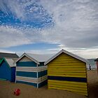 Beach Boxes by Michael Eyssens