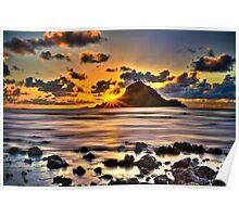 First Light on Hana, Maui Poster