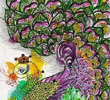 Peacock Series : I'm the Queen by D.U.R.A .