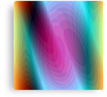 Hypnotizing shapes Canvas Print