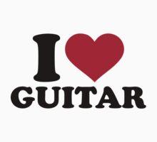 I love guitar by Designzz