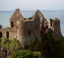 Dunluce Castle, Co Antrim by Les Magee