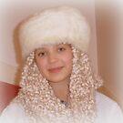 Wearing Nana's Hat by Fara