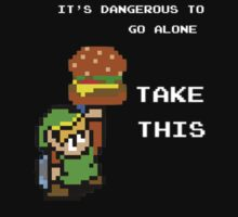 IT's Dangerous to go Alone by RupeeShards