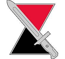 7th Infantry Division - DUI Photographic Print