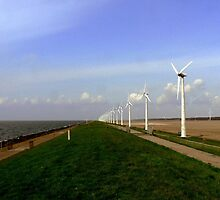 WIND TURBINES by Johan  Nijenhuis