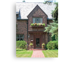 The Bishop's House Canvas Print