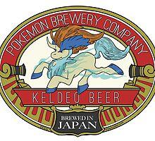 Keldeo Beer by tenaciousbee