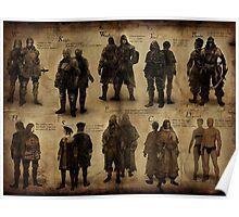 Dark Souls- The Classes  Poster