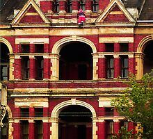 Santa comes to Melbourne! by Roz McQuillan