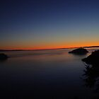 Sunset at Deception Pass by Dorthy Ottaway