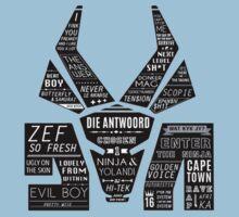 Die Antwoord booklet design Kids Clothes