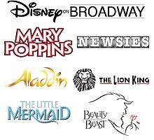 Disney On Broadway by joshhoffman