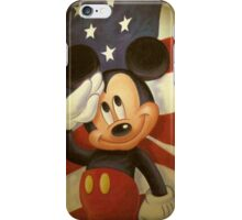 Mickey Americana  iPhone Case/Skin