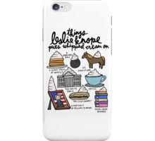 Thing Leslie Knope Puts Whipped Cream On iPhone Case/Skin