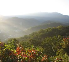 First Light,  Smokey Mountains by NatureGreeting Cards ©ccwri