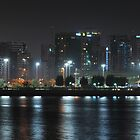 City at Night II by Joseph Najm