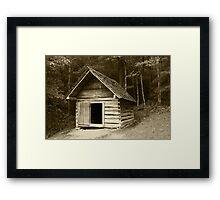 Henry's Smokehouse II Framed Print