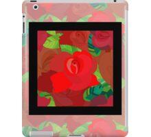 Red roses pattern iPad Case/Skin