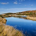 Sloop Lagoon at Taylors Beach, Tasmania by Christine Smith
