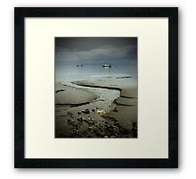 Summer Goodbye Framed Print