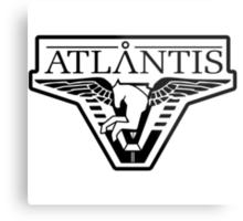 Atlantis Logo  Metal Print