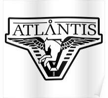 Atlantis Logo  Poster