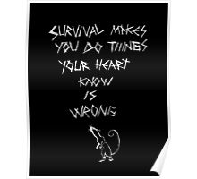 Peter's Survival Poster