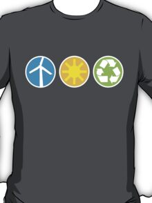 Wind Solar Recycle T-Shirt