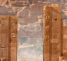 Temenos Gateway in Petra, Jordan Sticker