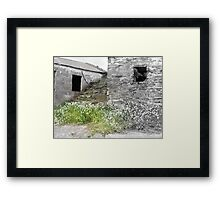 Stairway to where? Framed Print