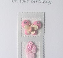 With Love On Your Birthday Card by Sara Hasted