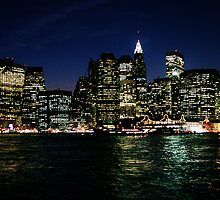 Manhattan Skyline by abfabphoto