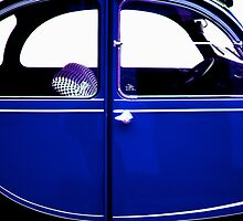2CV Blue by Daniel Sorine